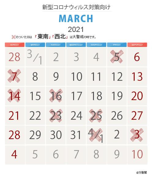 3_新型コロナウィルス注意カレンダー
